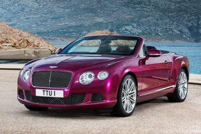 Самый быстрый кабриолет в мире Continental GTC Speed от Bentley